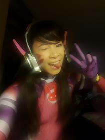 D.Va from Overwatch worn by Celeste Orchid