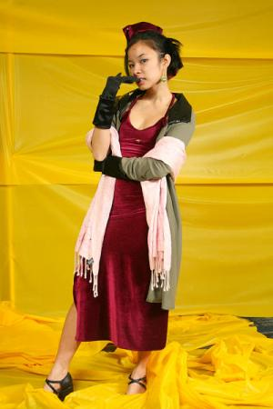 Faye Valentine from Cowboy Bebop worn by Celeste Orchid