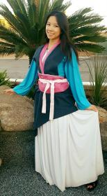 Mulan from Mulan worn by Celeste Orchid