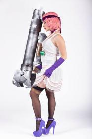 Jinx from League of Legends worn by Celeste Orchid