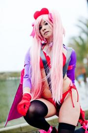 Strawberry from No More Heroes worn by Celeste Orchid