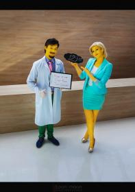 Dr. Nick Riviera from Simpsons, The worn by Naga zmeyuka