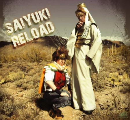 Son Goku from Saiyuki Reload worn by Ryuichi