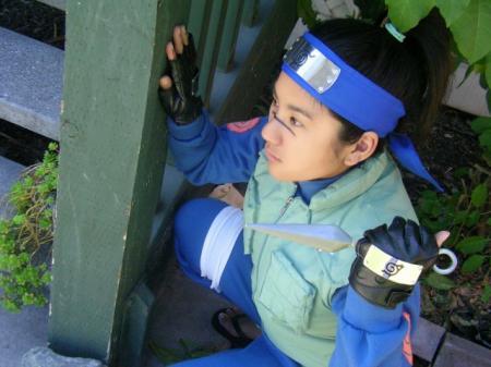 Iruka Umino from Naruto worn by Janelle Ann