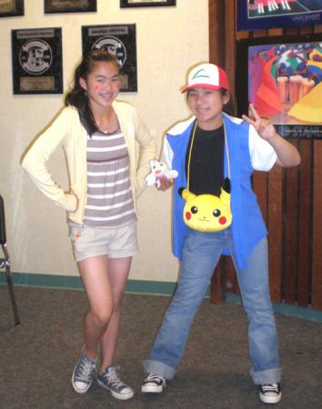 Ash Ketchum / Satoshi from Pokemon worn by Janelle Ann
