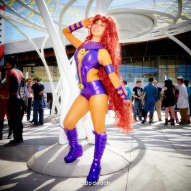 Starfire from Teen Titans worn by RosieGaga