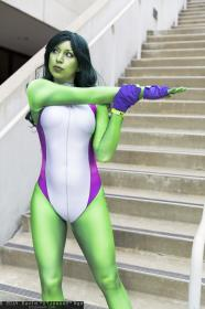 She Hulk from Marvel Comics worn by RosieGaga