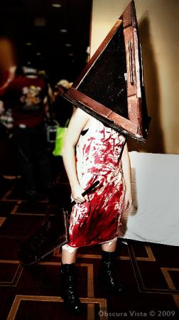 Pyramid Head from Silent Hill 2 worn by RedSonya