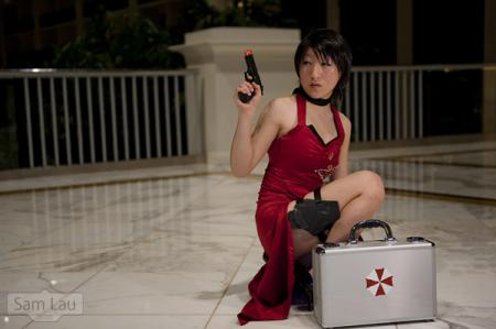 Ada Wong from Resident Evil 4 worn by RedSonya