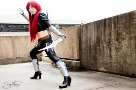 Katarina from League of Legends worn by RedSonya