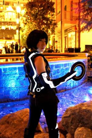 Quorra from TRON worn by RedSonya