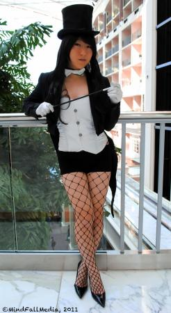 Zatanna Zatarra from Justice League worn by RedSonya