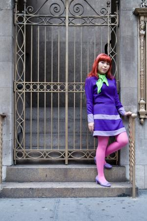 Daphne Blake from Scooby Doo worn by Lady of the Thread