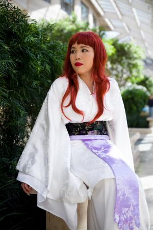 Youko Nakajima (Empress of Kei) from Twelve Kingdoms worn by Lady of the Thread