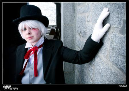 Allen Walker from D. Gray-Man worn by TseUq