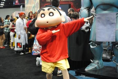 Shin Chan from Crayon Shin-chan worn by Shii Arisugawa
