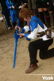 Layfon Wolfstein Alseif from Chrome Shelled Regios worn by arcane drifter
