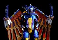 Bahamut from Final Fantasy X worn by RAIBot-01