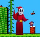 Shy Guy from Super Mario Brothers Series worn by RAIBot-01