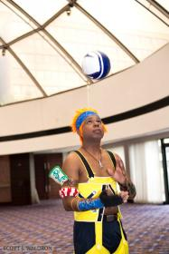 Wakka from Final Fantasy X  by princemercury1