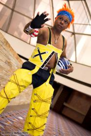 Wakka from Final Fantasy X worn by princemercury1