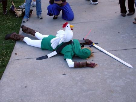 Link from Legend of Zelda: Ocarina of Time worn by Zal