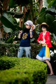 Monkey D. Luffy from One Piece worn by Zalora