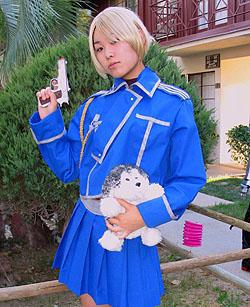 Riza Hawkeye from Fullmetal Alchemist