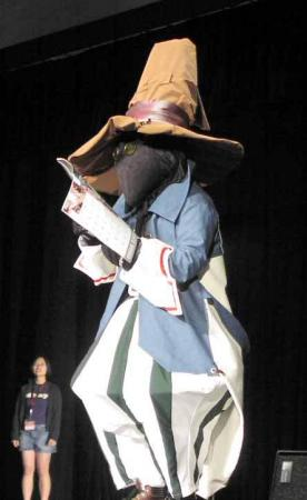 Vivi from Final Fantasy IX worn by CardShark