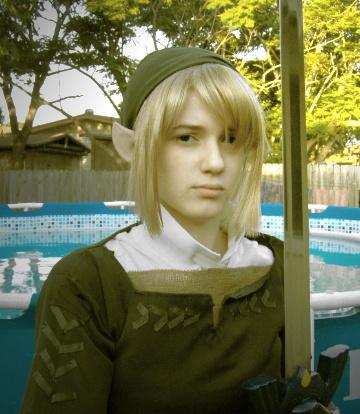 Link from Legend of Zelda: Twilight Princess worn by Kenlink Wilder
