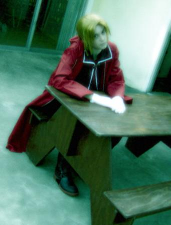 Edward Elric from Fullmetal Alchemist worn by Kenlink Wilder