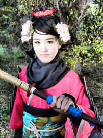 Momohime from Muramasa: The Demon Blade worn by Alice