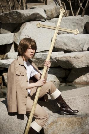 Greece / Heracles Karpusi from Axis Powers Hetalia