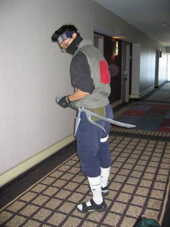 Kakashi Hatake from Naruto worn by Ikariya