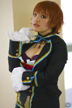 Meiko from Vocaloid worn by 黒髪