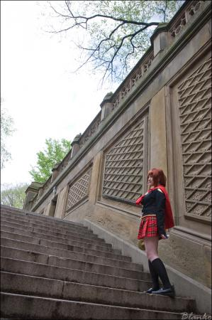 Cinque from Final Fantasy Type-0 (Worn by 黒髪)