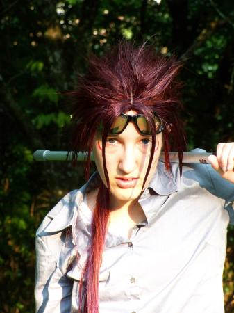Reno from Final Fantasy VII: Advent Children worn by Fyrefox13
