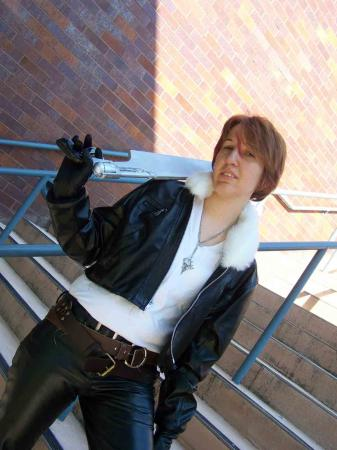 Squall Leonheart from Final Fantasy VIII worn by Fyrefox13