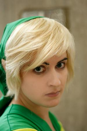 Link from Legend of Zelda: Phantom Hourglass worn by hailo