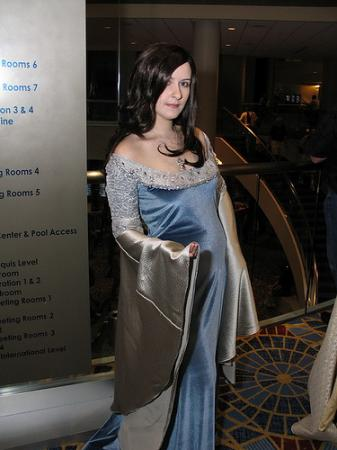 Arwen Undomiel from Lord of the Rings worn by hailo