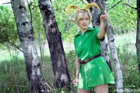 Link from Legend of Zelda: Ocarina of Time worn by hailo