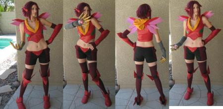 Kallen Stadtfeld (Kozuki) from Code Geass R2 worn by OwlDepot