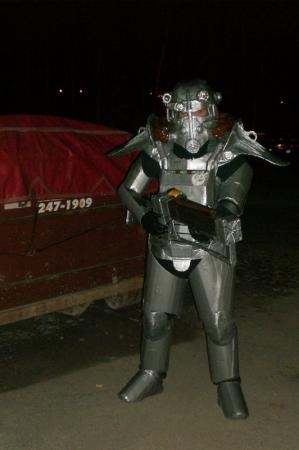 Brotherhood of Steel Paladin from Fallout 3