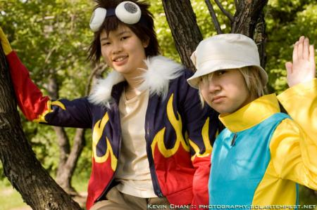 Takeru TK Takaishi from Digimon Adventure 02 worn by Hikarilight