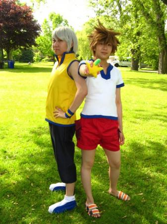Riku from Kingdom Hearts Birth by Sleep worn by Hikarilight