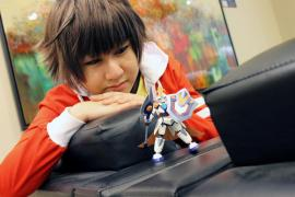 Yamano Ban from Danball Senki W worn by Hikarilight