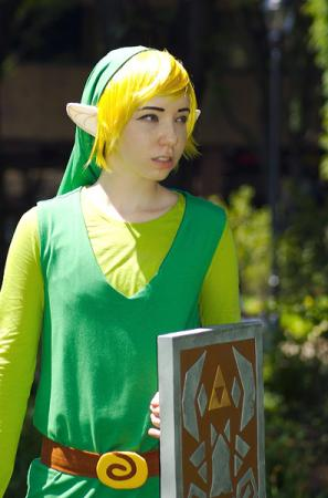 Link from Legend of Zelda: Phantom Hourglass worn by Mecha Faux
