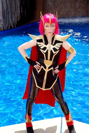 Haman Karn from Mobile Suit Gundam ZZ worn by Mecha Faux