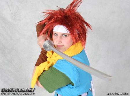Chrono from Chrono Trigger worn by sailorgaia