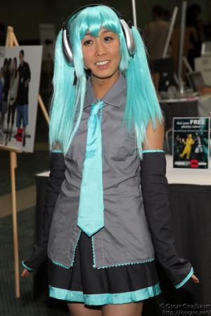Hatsune Miku from Vocaloid 2 worn by Aimi